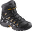 """Salomon Junior Xa Pro 3D Winter TS CSWP Shoes Black/India Ink/Bright Marigold"""
